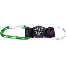 Coghlans Carabiner with Compass & Key Ring